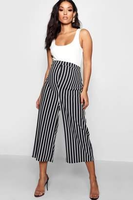boohoo Maternity Stripe Culotte Trouser
