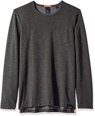 Scotch & Soda Men's Longsleeve Tee in Waffle Structured Quality
