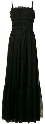 No.21 tulle long dress