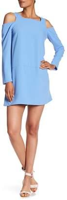 Amanda Uprichard Cut-Out Long Sleeve Dress