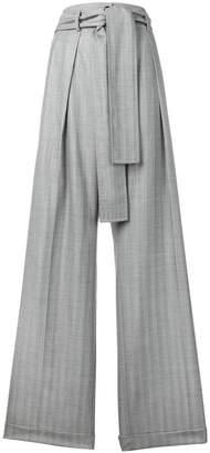 Nina Ricci checked palazzo pants