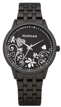 Morgan de Toi Ma'dor Shamballe White Blue Zirconia Crystals Beads Charms Bracelet SHABR13-032