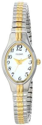 Pulsar Women's PC3272 Analog Display Japanese Quartz Two Tone Watch
