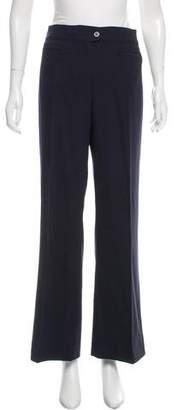 Valentino Mid-Rise Wide Leg Pants