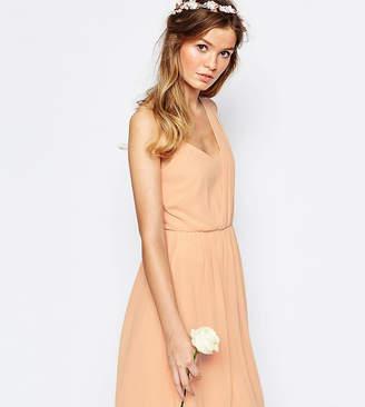 Vila One Shoulder Sash Dress