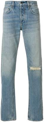 Rag & Bone slash knee jeans