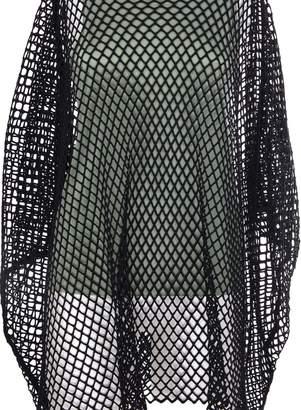 MM6 MAISON MARGIELA Fish Net Layered Blouse