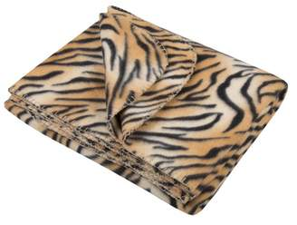 Accessorize Tiger Faux Fur Throw