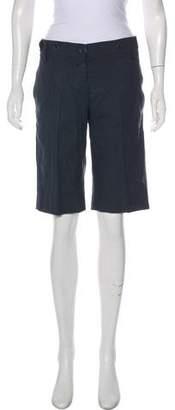 Chloé Mid-Rise Knee-Length Shorts
