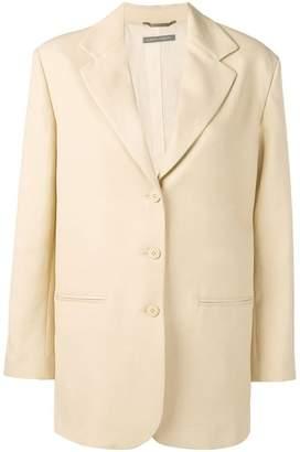 Alberta Ferretti straight-fit blazer