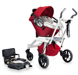 Bed Bath & Beyond Orbit Baby™ Stroller Frame G2 and Accessories - Red