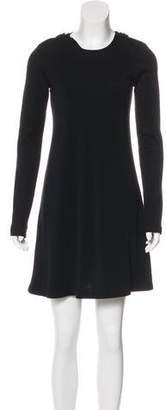Burberry Wool Mini Dress