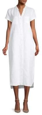 Midi Short Sleeve Shirtdress
