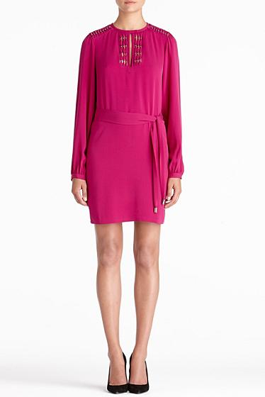 Diane von Furstenberg Florina Dress In Roseberry