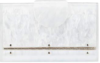 Edie Parker Mini Lara Glitter Iceless Clutch Bag