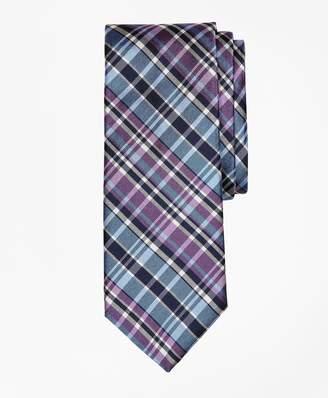 Brooks Brothers Plaid Oxford Tie