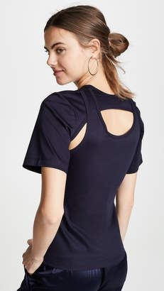 Dion Lee Layered Back T-Shirt