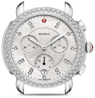 Michele Sidney Diamond Watch Head, 38mm