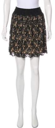 RED Valentino Embellished Mini Skirt w/ Tags