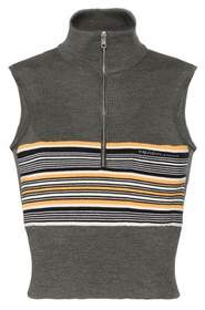 Sleeveless Silk Sweater