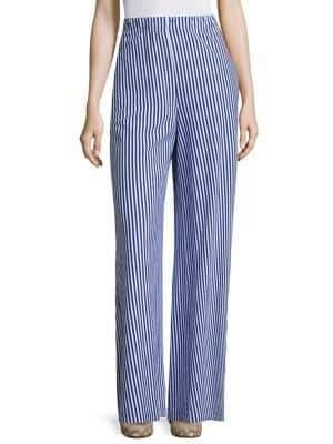 Pia Palazzo Striped Pants