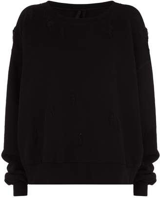 Unravel Distressed Sweater