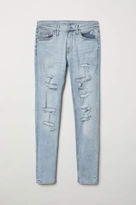 H&M Super Skinny Jeans - Blue