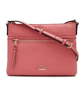 At Psyche Kate Spade Gabrielle Zip Leather Crossbody Bag