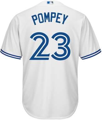 Majestic Dalton Pompey Toronto Blue Jays MLB Jersey Tee