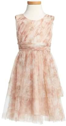 Jenny Yoo Etsy - Vintage Floral Tulle Dress