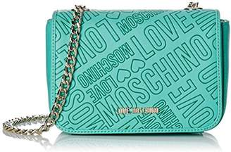 Love Moschino Women's Shoulder Bag Turquoise Size: (B x H x T)