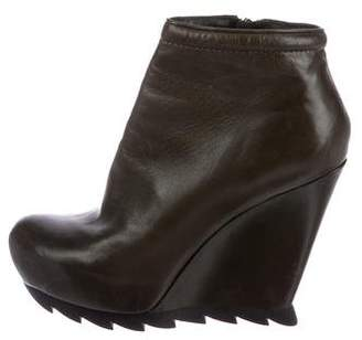 Camilla Skovgaard Leather Wedge Booties