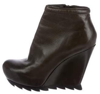 Camilla Skovgaard Leather Wedge Booties