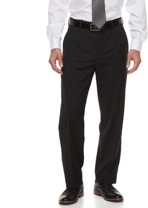 Croft & Barrow Big & Tall Classic-Fit Stretch No-Iron Dress Pants