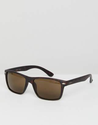 Esprit square sunglasses in tort