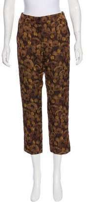 Louis Vuitton Mid-Rise Silk Pants