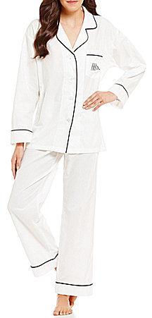 BedHeadBedHead Mrs-Embroidered Classic Pajamas