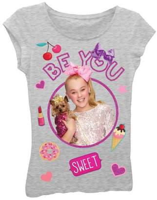Nickelodeon JoJo Siwa Glitter Graphic T-Shirt (Little Girls & Big Girls)