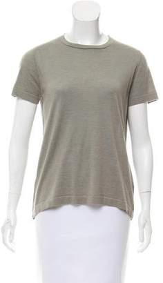 Brunello Cucinelli Monili-Embellished Cashmere Top