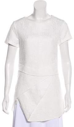 Pallas Jacquard Short Sleeve Tunic