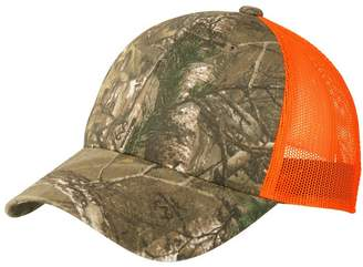 TOP HEADWEAR Structured Camouflage Mesh Cap