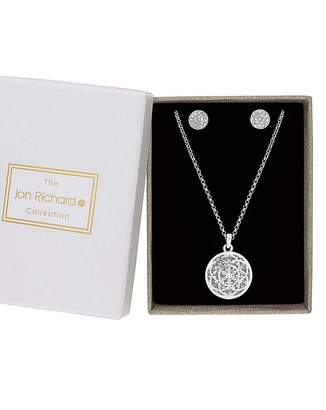 Jon Richard Filigree Jewellery Set
