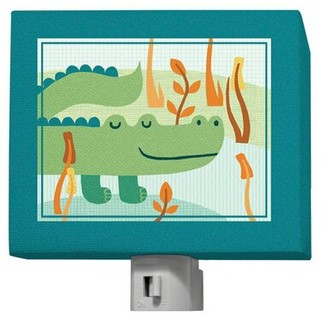 Oopsy Daisy Fine Art For Kids A Through Z Animals - Alligator Night Light