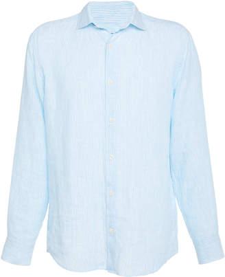 Frescobol Carioca Linen Button-Up Shirt