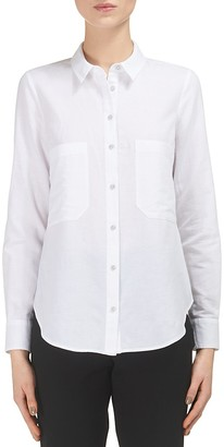 Whistles Amy Button-Up Shirt $160 thestylecure.com