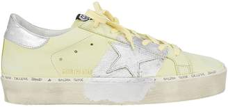 Golden Goose Hi Star Yellow Leather Low-Top Sneakers