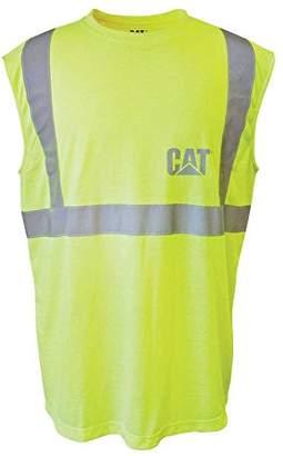 Caterpillar Men's Hi-VIS Sleeveless T-Shirt