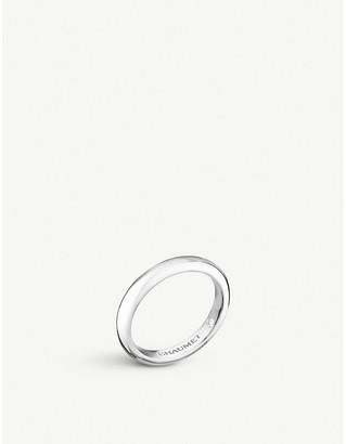 Chaumet Fidélité platinum secret diamond wedding band