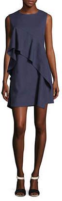 Diane von Furstenberg Sleeveless Ruffle Dress