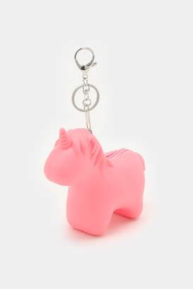 Ardene Unicorn Coin Purse Keychain